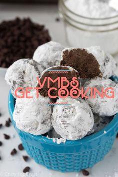 VMBS GET COOKING : Chocolate Snowballs