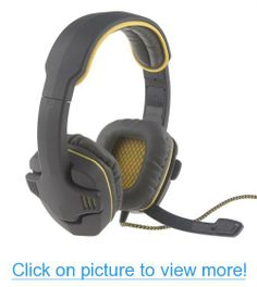 Neewer® Professional Stylish Plug Stereo Headband Headset Gaming Headset for PC Notebook, Gray and Yellow Color Pc Notebook, Gaming Headset, Cell Phone Accessories, Headphones, Gray, Games, Yellow, Stylish, Color