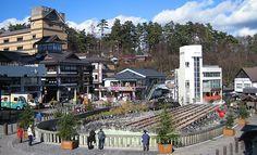 Hotspring Kusatsu Onsen - 5 hrs from Tokyo, travel via JR train http://maps.google.com/maps?saddr=Kusatsu+Onsen&daddr=Tokyo,+Japan&hl=en&sll=35.669343,139.688373&sspn=0.012952,0.01929&geocode=FdbALgId689CCCkD0TBNqucdYDGZDfGRrNRj9Q%3BFRCUIAIduoZTCCnnVy7whxtdYDGJG1cii2EBLg&vpsrc=0&mra=ls&t=h&z=9&start=0