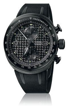 Reloj Cro Oris TT3 Chronograph Black 67476117764 c130e311d645