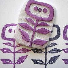 Styrofoam Stampmaking