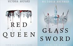 Red Queen and Glass Sword Book review #redqueen