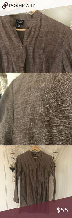 Long Cardigan type loose ample Open Front Mousseline Veste blanc cassé taille 10-12-14