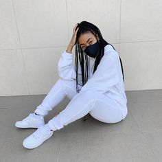 am I the only one who gets anxious when wearing completely white outfits?🥴 White Outfits, Anxious, Rain Jacket, Windbreaker, Jackets, How To Wear, Fashion, White Rave Outfits, Down Jackets