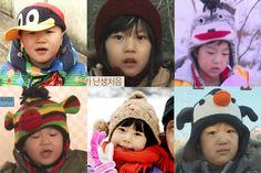 Their fashionable hats, so cute & adorable