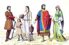 The Gallic and Gallo-Roman costume period. | Costume History