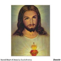 Sacred Heart of Jesus Ceramic Tile - image gifts your image here cyo personalize Sacred Heart Pictures, Paint Icon, Christian Images, Christian Art, Religious Images, Religious Art, Religious Quotes, Heart Of Jesus, Divine Mercy