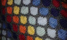 Honeycomb pattern stroller/carseat blanket