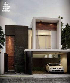 新築住宅の外観アイディア10選!箱型なナウトレンドデザイン! | Modern Glamour モダン・グラマー NYスタイル。・・BEAUTY CLOSET <美とクローゼットの法則>