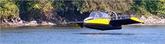 Hoverwing Flying Hovercraft - for the man who thinks he has everything!