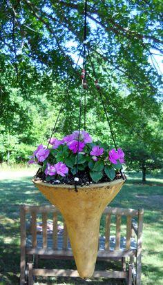 Gourd Hanging Flower Pot