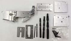 Anderson 80% Lower Receiver with Anderson Jig – Anderson Rifles, The World's Only NO LUBE AR-15