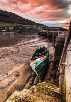 Carlinford Pier in Carlingford ~ a small coastal town in Co. Louth, Ireland.