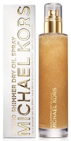 Take your Summer skin to the next level, Michael Kors liquid shimmer spray