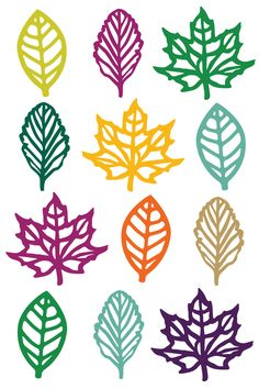 Under the Sea Cut Files + Clip Art - Freebie Friday! - - Under the Sea Cut Files + Clip Art - Freebie Friday! Diy And Crafts, Crafts For Kids, Paper Crafts, Free Flower Clipart, Fall Leaf Template, Pc Minecraft, Free Watercolor Flowers, Fall Projects, Autumn Leaves