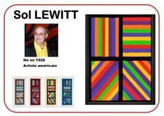 Sol Lewitt - Portrait d'artiste Art Lessons For Kids, Art Lessons Elementary, Art For Kids, Art Education Projects, Art Projects, Education Logo, History Education, Education Quotes, Ecole Art