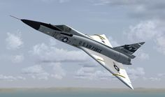 The Convair F-102 Delta Dagger was an American interceptor aircraft that was built as part of the backbone of the United States Air Force's air defenses in the late 1950s. Entering service in 1956, its main purpose was to intercept invading Soviet bomber fleets during the Cold War. Designed and manufactured by Convair, 1,000 F-102s were built.