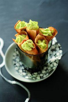 RECIPE - Cornets de mousse de courgette (Source : http://cuisine.larousse.fr/recettes/detail/cornets-de-mousse-de-courgette) #recipe #zucchini