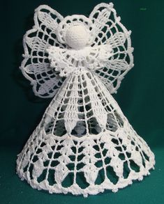 Best 12 Ela Klementowicz's 860 media content and analytics – AmigurumiHouse – SkillOfKing. Crochet Christmas Decorations, Christmas Angel Ornaments, Crochet Christmas Ornaments, Crochet Snowflakes, Crochet Doilies, Christmas Crafts, Crochet Mask, Crochet Gifts, Crochet Classes