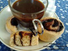 Kakaós csiga rizslisztből rizskovásszal kávéval French Toast, Paleo, Breakfast, Food, Morning Coffee, Essen, Beach Wrap, Meals, Yemek