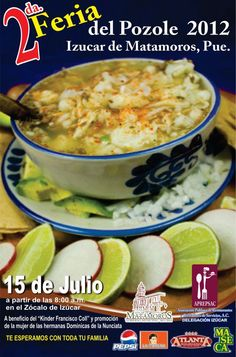 Feria del pozole 2012 / Izucar de Matamoros / Puebla / 15 Julio 2012