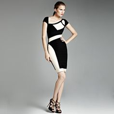 Colorblock Cutout Bandage Dress H416E $99. You can get our one free gift(sweater,dress,leggings,outwear and so on) when your order is over $119.Let's go shopping:http://www.udobuy.com/search.php?intro=daily_new