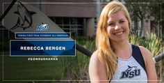 Bergen Named CoSIDA First-Team Academic All-American - Nova Southeastern University Athletics Nova Southeastern University, One Team, Rowing, Bergen, Athlete, Names, Swimming, American, Swim