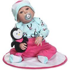 Reborn Baby Doll Girl Baby Bath ...