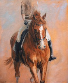 Beautiful Equine horse LE dressage by heatherirvinefineart on Etsy