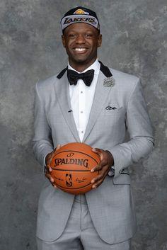 Best-Dressed NBA Rookies - Julius Randle, Los Angeles Lakers