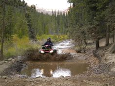 ATVing in the Colorado Mts.