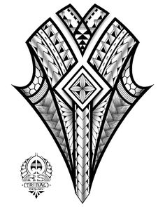 You can find Maori tattoos and more on our website. Maori Designs, Tribal Tattoo Designs, Stammestattoo Designs, Polynesian Tattoo Designs, Geometric Tattoo Design, Mandala Tattoo Design, Polynesian Art, Maori Tattoo Arm, Maori Tattoo Meanings