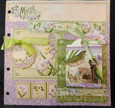 March Page -  A time to Flourish by Jan Kruger