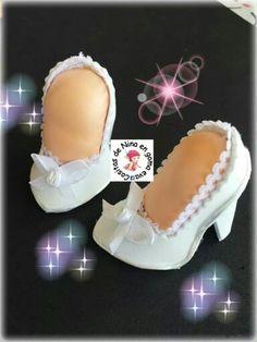 Zapatos de tacón novia