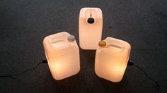 Jerrycan lamps - Recyclart