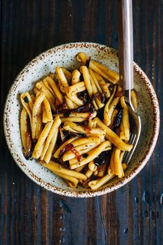 Caramelized Onion Pasta | Well and Full | #vegan #pasta #recipe | healthy recipe ideas Healthy Recipes |