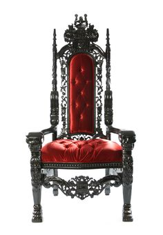 Gothic Throne - New addition to our studio :) Looking forward to rocking some shoots with this thing!