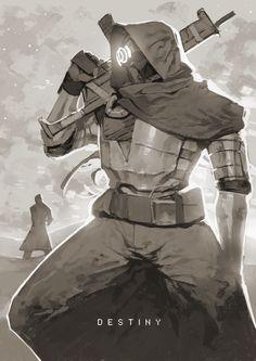 Hunter (Destiny) Fan Art - Huusenuri