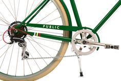 PUBLIC bike, love the green!