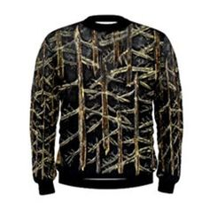 Golden Forest Black Yellow Mens Sweatshirt by Le Closet #5 – ABBY ESSIE