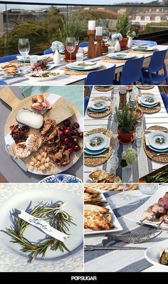 Mediterranean-Themed Dinner Party Decor