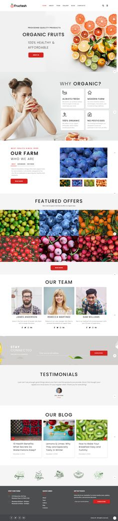 Take a look of this new high-productive and gorgeous organic fruit delivery template aimed to describe your farm products in an attractive and catchy way. Use all the elements and features that the theme offers and explore the opportunities, which gives to you built-in Elementor drag-n-drop builder and its premium additions. You will be really impressed and will impress the visitors with an amazing parallax effect. Fruit Delivery, Organic Fruit, Wordpress Theme, Template, Drop, Explore, Amazing, Modern, Products