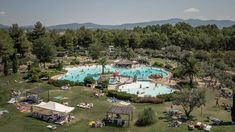 Le Capanne de camping met zwembad in Toscane Camping le Capanne