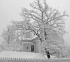 vinter i Vaxholm Sweden
