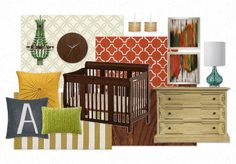 Unisex Nursery by @Jolie Interiors │ Jolyane V. Houston