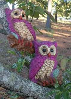 I ♡ my vintage pink owls.  Submitted by owls-love-tea