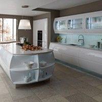 Cucina in rovere con isola NANTÌA GRIGIO CENERE - TONCELLI CUCINE ...