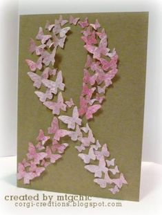 Butterfly Ribbon by mtgchic - Cards and Paper Crafts at Splitcoaststampers