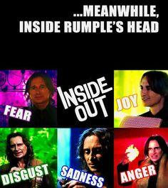 Rumple's emotions
