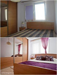 sypialnia mieszkania w olsztynie przy ul. jaroszyka - staging.    #Mieszkania, #HomeStaging